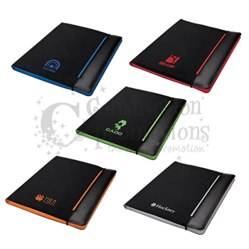 Color Stripe Padfolio