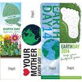 Earth Day Seed Paper Bookmarks