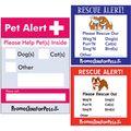 Pet Alert Window Decal Sticker